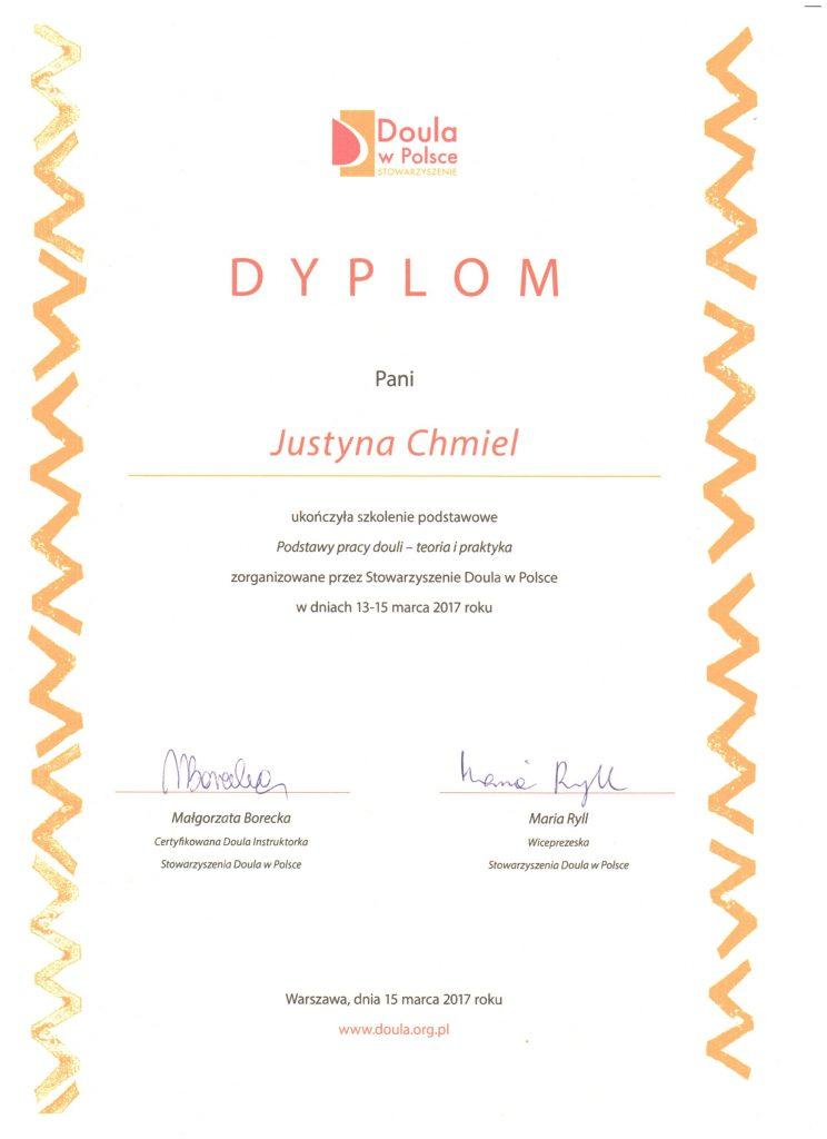 Dyplom Podstawy Pracy Douli