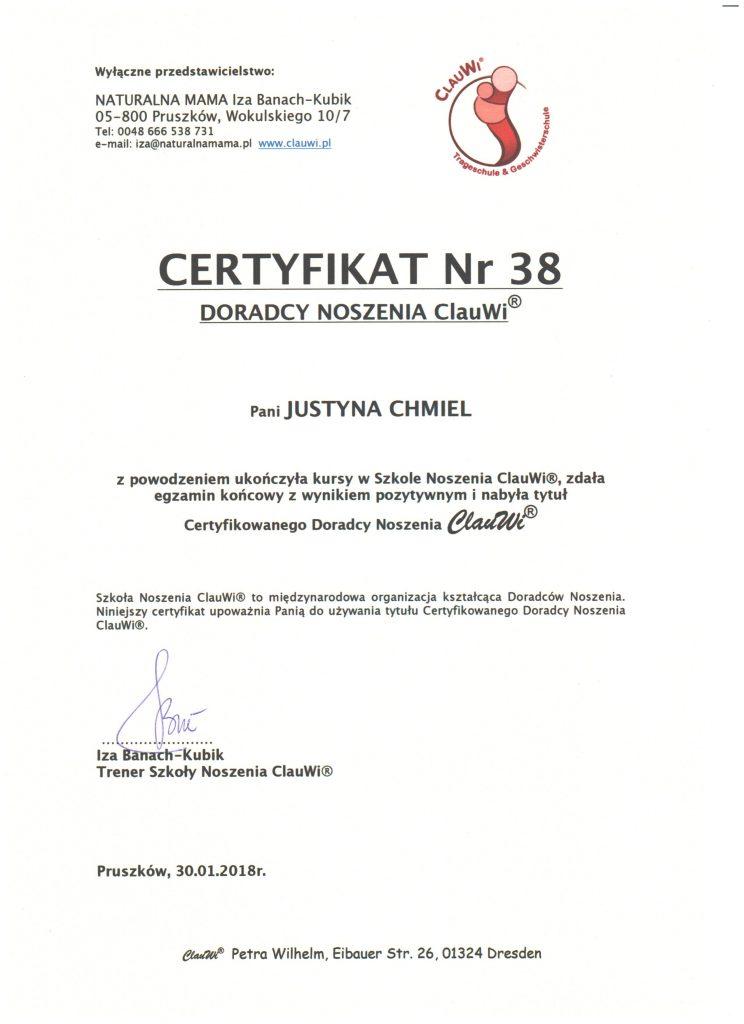 Certyfikat ClauWi