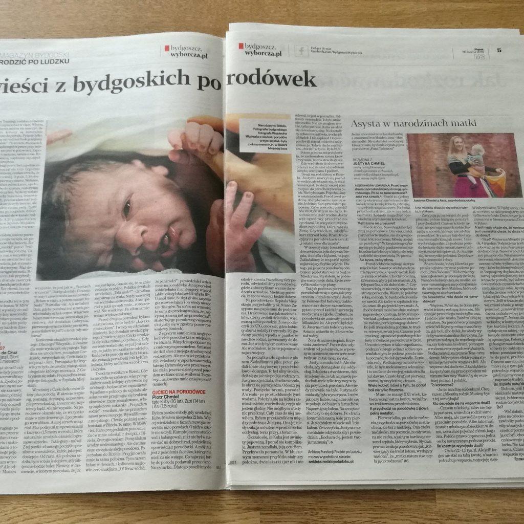 Doula Justyna Chmiel Gazeta Wyborcza